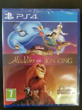Disney Juegos Clásicos: Aladdin Y El Rey León PlayStation 4 PS4 Nuevo y Sellado