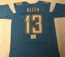 Keenan Allen Autographed Los Angeles Chargers Baby Blue Jersey Beckett COA