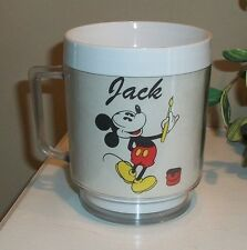 "Personalized ""JACK"" Disney Mickey Mouse Coffee Cup Made in the USA"