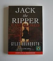 Jack The Ripper:Case Closed - by Gyles Brandreth - MP3CD - Unabridged Audiobook