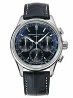 Frederique Constant Blue Chronograph Men Watch Flyback FC-760N4H6