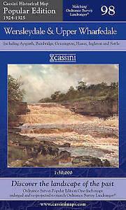 Wensleydale & Upper Wharfedale.Cassini Pb.Ltd(Sht.map,fold,2007)NEW.End of Stock