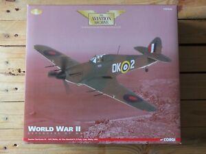 CORGI AA35502 - RAF HAWKER HURRICANE MK.IIC KR PARK MALTA 1942 - 1/32 MINT