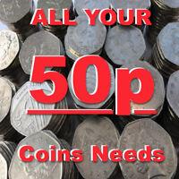 ALL 50p COINS FIFTY PENCE COIN 1969 TO PRESENT NEW COINS ADDED ALL THE TIME