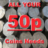 ALL 50p COINS FIFTY PENCE COIN 1969 TO 2018 NEW COINS ADDED ALL THE TIME