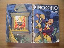 PINOCCHIO COLLODI ILLUSTRATO MUSSINO MARZOCCO  OLD BOOK  ANNO 1941