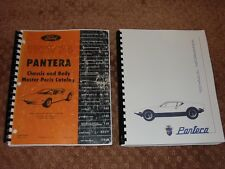 1971-1974 Pantera Chassis & Body Parts Catalog and Pantera Technical Info Manual
