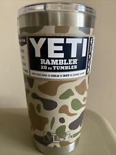 New Yeti Rambler 20oz. Camo