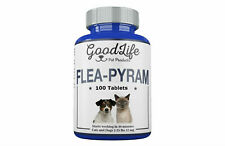 100 Tablets GoodLife Flea Killer For Cats and Dogs 2-25 Lbs. 12 mg Quick Results