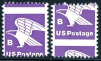 EFO 1818 MNH SET OF TWO -- EACH WITH DIFFERENT PERF SHIFT -- WITH NORMAL