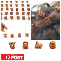 15pc/ Girls Ladies 1cm Mini Hair Clips Jaw Claw Grip Butterfly Hairclip Styling