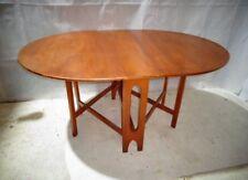 RETRO TEAK BENDT WINGE STYLE GATELEG TABLE VINTAGE TABLE MID CENTURY TABLE