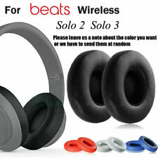 2 Earpad Ear Pads Cushion For Beats By Dr Dre Solo 3 Solo2 Wireless Headphone