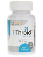 i-Throid (iThroid) by RLC Labs - 12.5 mg - 90 Capsules
