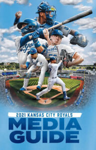 2021 MLB Baseball Kansas City Royals Media Guide New IN STOCK