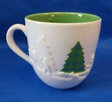 Starbucks 2006 HOLIDAY 16oz Raised 3D COFFEE MUG Cup CHRISTMAS TREE Snowball