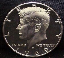 1969 S KENNEDY GEM-PROOF  40.0/% SILVER HALF DOLLAR    ITEM #24R