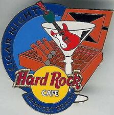 Hard Rock Cafe NEWPORT BEACH 1998 CIGAR NIGHT Event PIN - HRC #6578