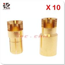 10 Pairs Male/ female 6.0 mm Gold Plated Bullet Banana Plug Connector RC Battery