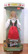 1999 Suédois BARBIE Poupées du monde NRFB (Z120)