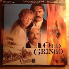 Old Gringo  Widescreen Laserdisc Movie