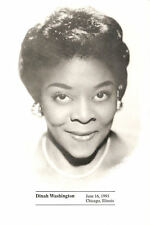 #2730 USPS FD Program 29c Dinah Washington Stamp