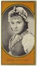 1936: Lucie Englisch, German starlet, card #52