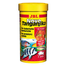 JBL Novo Tanganica Comida en Escamas 250ml - Percha colores Percas