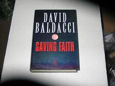 Saving Faith by David Baldacci (1999) SIGNED 1st/1st British Edition