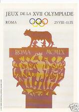 Sports Postcard - The Olympics - Roma - Mars Advert   Y12
