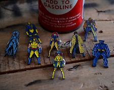 Cartoon X-Men Enamel Lapel Pin Set Complete 90s Wolverine Marvel ¡SALE OFFER!