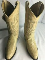 Tony Lama Women's Full Quill Ostrich Cowboy Boots SIZE 8.5
