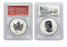 Canada 2012 Maple Leaf Dragon Privy Mark Drache 1 oz Silver Reverse Proof PCGS