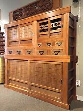 Japanese Antique Mizuya Dansu ( Kitchen Chest.)