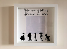 IKEA RIBBA Vinyl Decal Sticker Wall art Quote Youve Got a Friend in me Toy