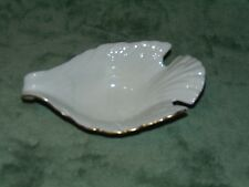 Vintage Lenox Dove Candy Dish Bowl With Gold Trim - Free Shipping