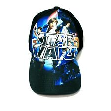 Star Wars LucasFilm Snapback Hat Cap Black Luke Skywalker Han Solo
