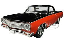 """1965 CHEVROLET EL CAMINO """"NOT YOUR MOTHER'S"""" RED & BLACK 1/18 CAR ACME A1805410"""