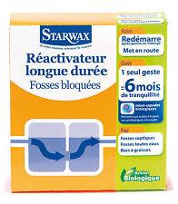 STARWAX REACTIVATEUR LONGUE DUREE FOSSES BLOQUES 500 GR 6 mois REF 639