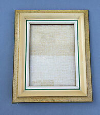 Ancien cadre porte photo à poser ou mural vitré déco vintage french antique