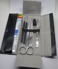 #008 Einfaches Präparierbesteck / Präparierset . Dissecting set /prepareerbestek