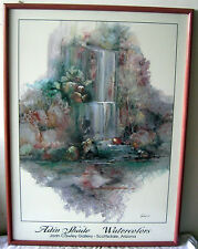 """DO YOU WANT TO OWN A RARE  """"WATER COLORS"""" PRINT BY ADAN SHADE""""!"""