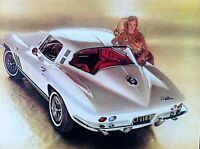 "1965 Chevrolet Corvette Sting Ray Coupe*Original*GM print ""Ready to Display"" ad"