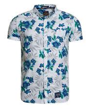 Camisas y polos de hombre blancas Superdry de 100% algodón
