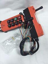 8 Channels Industrial Remote Controller Hoist Crane F21-E1B (1T+1R) AC/DC18-65V