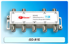 Gecen 8x1 Diseqc 1.1 multi satellite dish LNB switch GD-81E