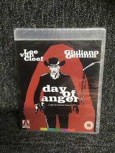 Day Of Anger Blu Ray -NEW -Lee Van Cleef Giuliano Gemma. Arrow. Sealed. Freepost