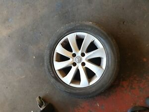 Citroen C4 Grand Picasso 2012 Alloy Wheel And Tyre 16 Inch