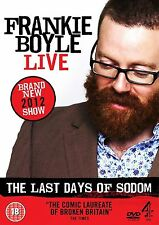Frankie Boyle - The Last Days Of Sodom - Live (2012) Brain Klein NEW UK R2 DVD
