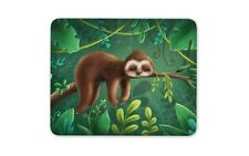 Cartoon Sloth Mouse Mat Pad - Lazy Teenager Son Kids Dad Funny Fun Gift #14832